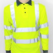 Aston Villa High Visibility Polo Shirt