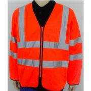 Holland High Visibility Long Sleeved Safety Vest