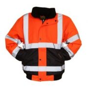 Luxembourg High Visibility Orange Jacket