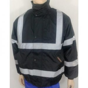 New Market High Visibility Black Jacket