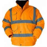 Alicante High Visibility Waterproof Bomber Jacket