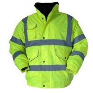 Barcelona High Visibility Waterproof Bomber Jacket
