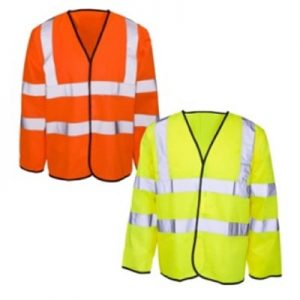 Bedfordshire Surrey High Visibility Long Sleeved Safety Vests