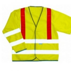 Grantham High Visibility Long Sleeved Safety Vest