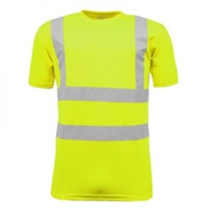 Lichfield High Visibility Crew Neck T Shirt