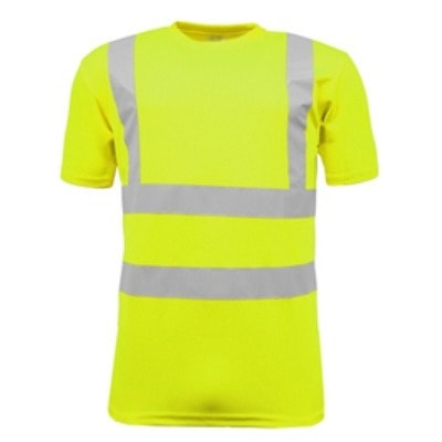 High visibility crew neck t shirt lichfield kuest for High crew neck t shirts