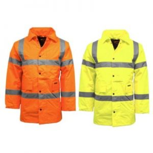 London Birmingham High Visibility Waterproof Parka Jacket