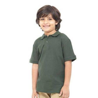 Childrens Short Sleeved Polo Shirt YPS180