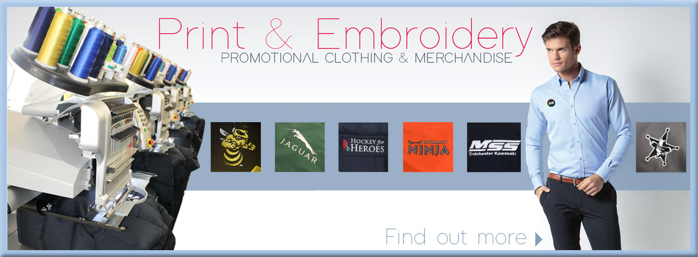 Print and Embroidery on Clothes Service