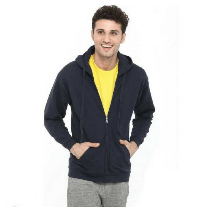 Mens Hooded Sweatshirt Full Zip SWZ280