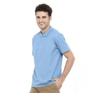 Mens Short Sleeved Polo Cotton Shirt MPS180