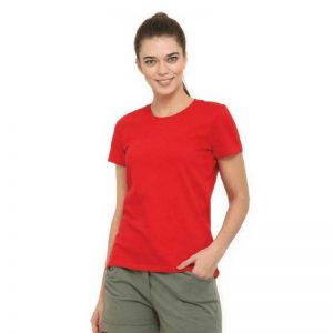 Womens Short Sleeved Cotton Tshirt WCS150