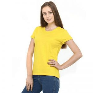 Womens Short Sleeved Cotton Tshirt WCS180